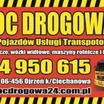 laweta płońsk pomoc drogowa ojrzeń