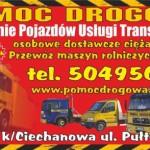 pomoc drogowa ciechanów holowanie płońsk